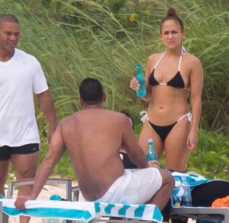 Jennifer et sa famille aux Bahamas le 24.07.2018