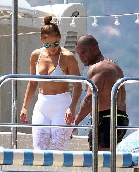 Jennifer Lopez en Italie le 07.08.2018