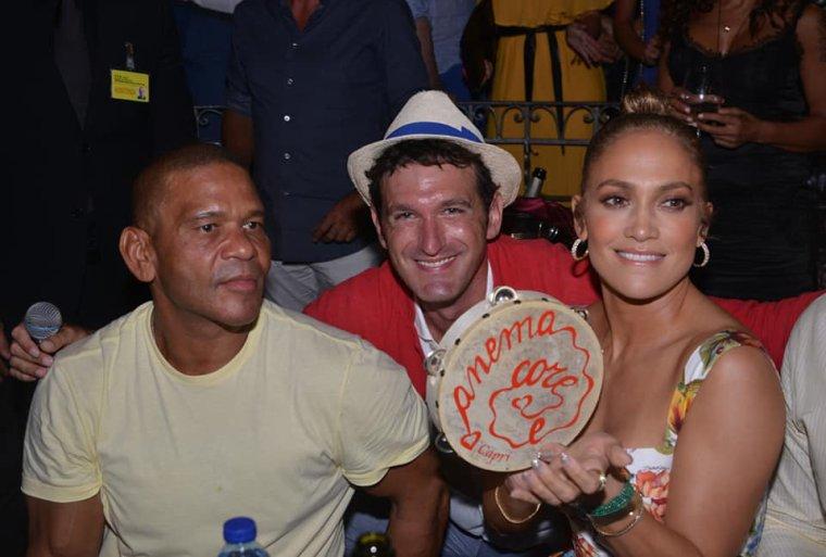 Jennifer Lopez en Italie le 08.08.2018