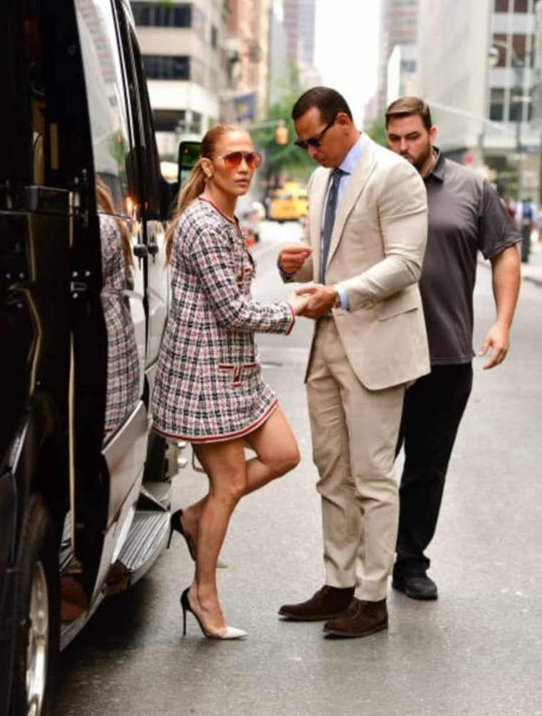 Jennifer & Alex à New York le 17.08.2018