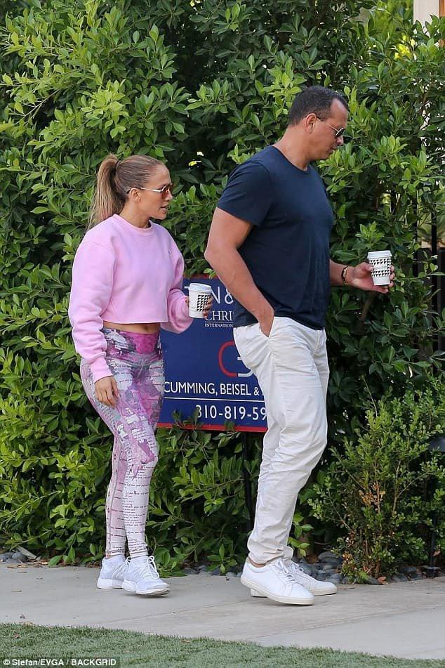 Jennifer & Alex à Beverly Hills le 30.08.2018