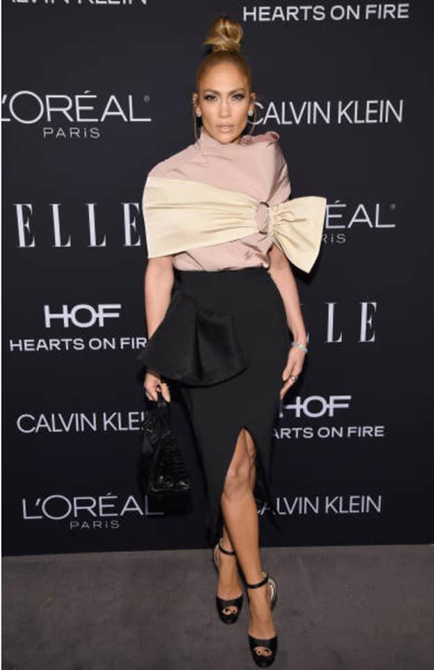 """Jennifer & Alex à un événement à Los Angeles pour """"ELLE Women"""" le 15.10.2018"""