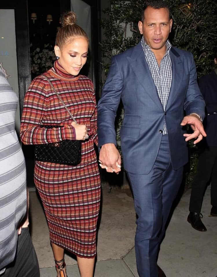 Jennifer & Alex Rodriguez à New York le 20.10.2018