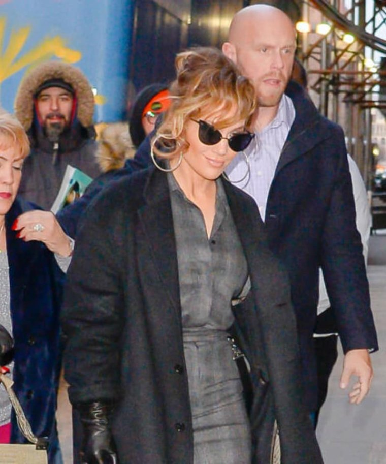 (12.12.2018) Jennifer et sa maman à New York