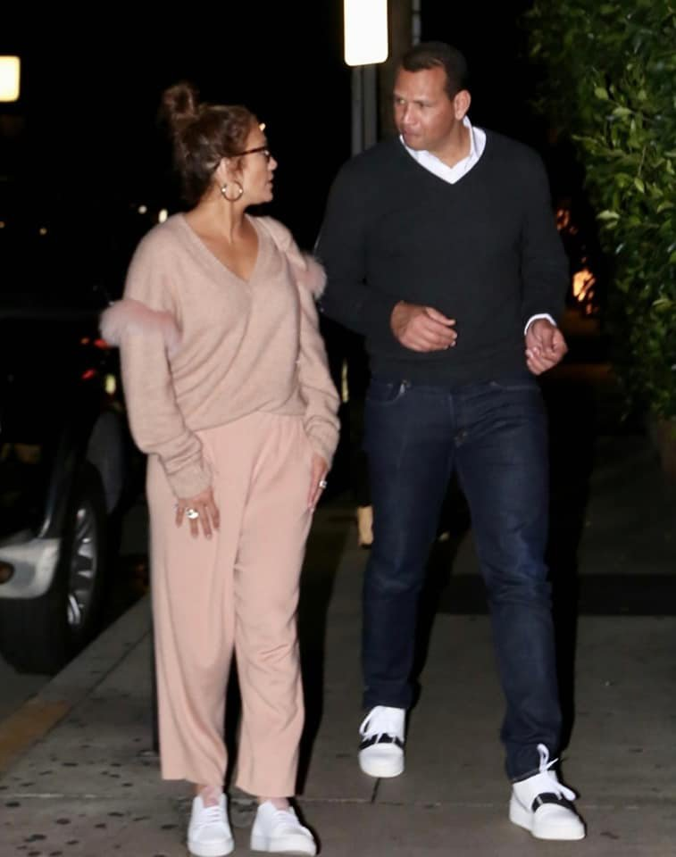 (20.12.2018) Jennifer & Alex Rodriguez à Los Angeles