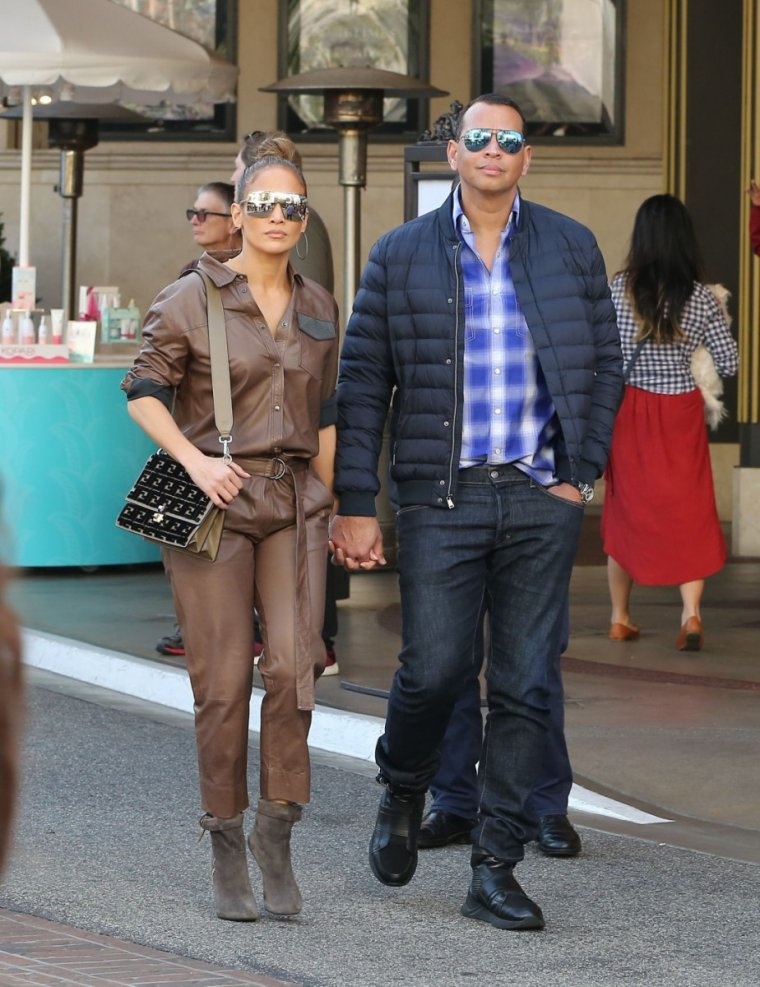 (24.12.2018) Jennifer & Alex à Los Angeles