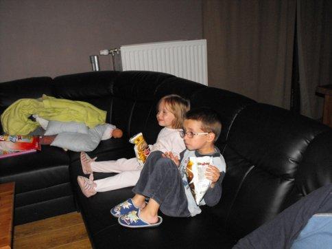 Première séance cinéma à la maison