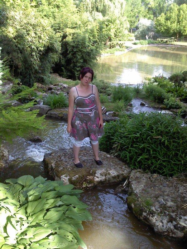 moi au parc floral d'apremont dans le 18
