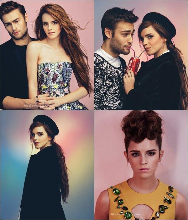 Photoshoot / Emma Watson / Wonderland Magazine (2014)