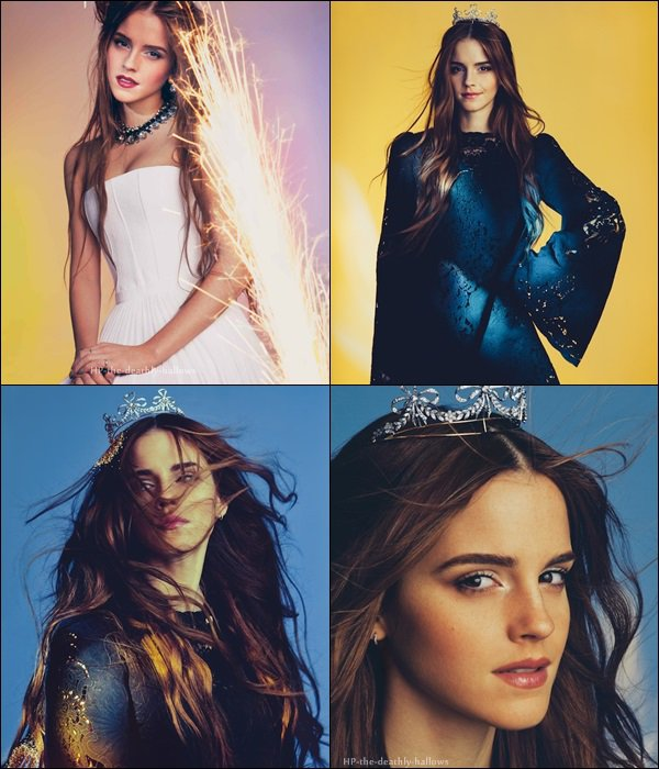 Photoshoot / Emma Watson / Wonderland Magazine (2014)