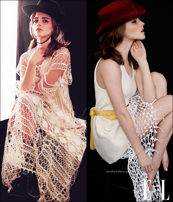 Photoshoot / Emma Watson / ELLE US