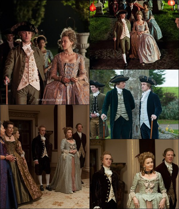 Film / Tom Felton & Miranda Richardson   / Belle - 23 juillet 2014