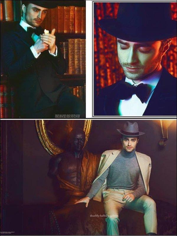 Photoshoot / Daniel Radcliffe / Paper Magazine