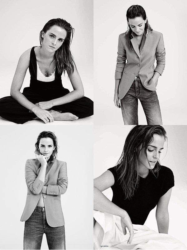Photoschoot / Emma Watson / ELLE UK (2014)