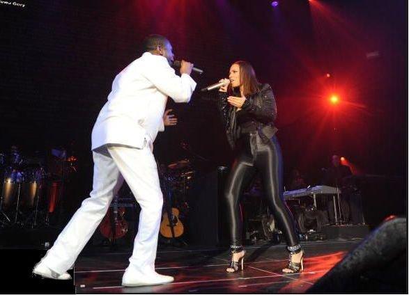 Youssou N'dour & Alicia Keys en Image