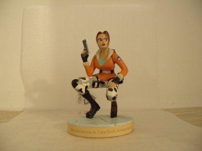 La n°4 : Les aventures de Lara Croft, Antarctique.