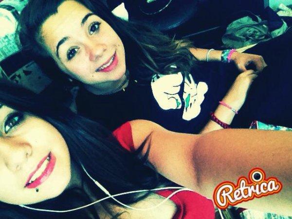 Ma soeur , ma vie ♥ j'laime pluss que tout au monde ♥