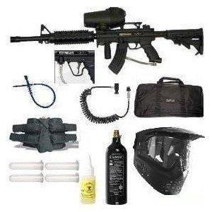 Tippmann A5 Paintball Marker Gun T4 4 1 RIS Sniper Set