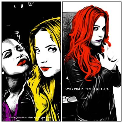 ..26 Août »  Deux nouvelles photos sur le Twitter d'Ashley ! (avec Christina Milian).