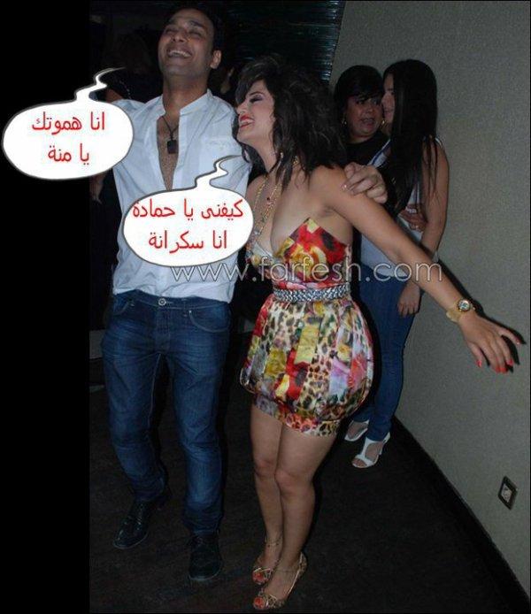فضايح الفنــــــانات العربية