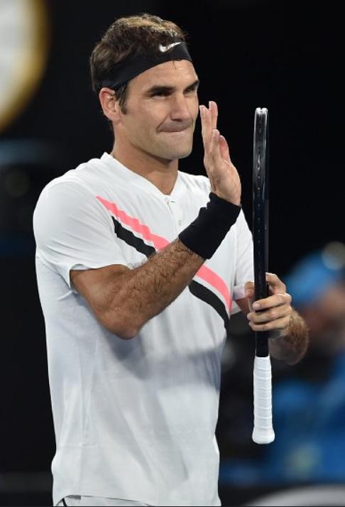 Australian Open 2018 Roger contre Aljaz Bedene