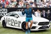 Stuttgart 2018 Roger contre Milos Raonic