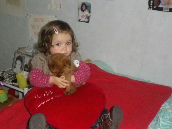Ma Fiolle Et Ma Chienne Luna <3