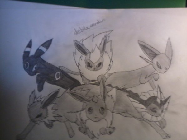 dessin pokemon fini