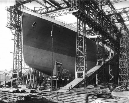Construction du Titanic