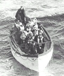 Les canots de sauvetage.