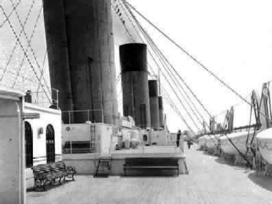 Les ponts du Titanic