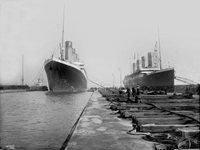 Le Titanic et l'Olympic