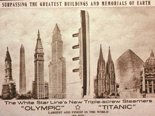 Infos complémentaires sur le Titanic