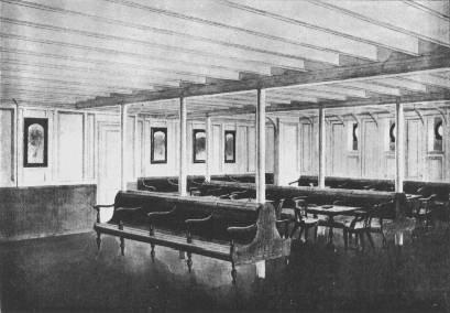 Salle commune des troisièmes classes