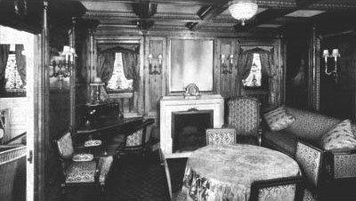 Cabines et suites de première classe