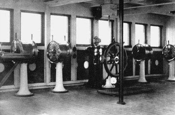 Timonerie du Titanic