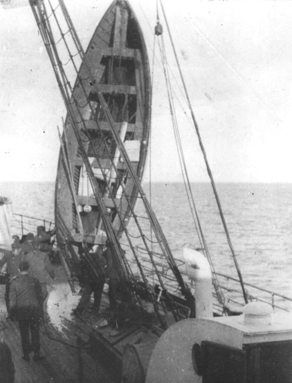 Les canots de sauvetage