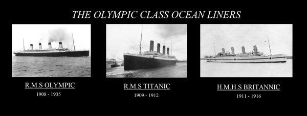 Les Sister-Ship du Titanic
