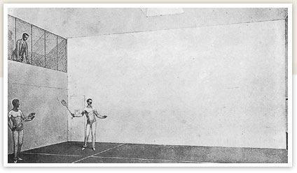Le court de squash