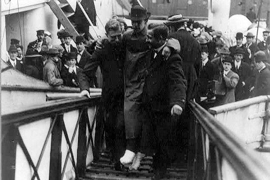 La station radio du Titanic
