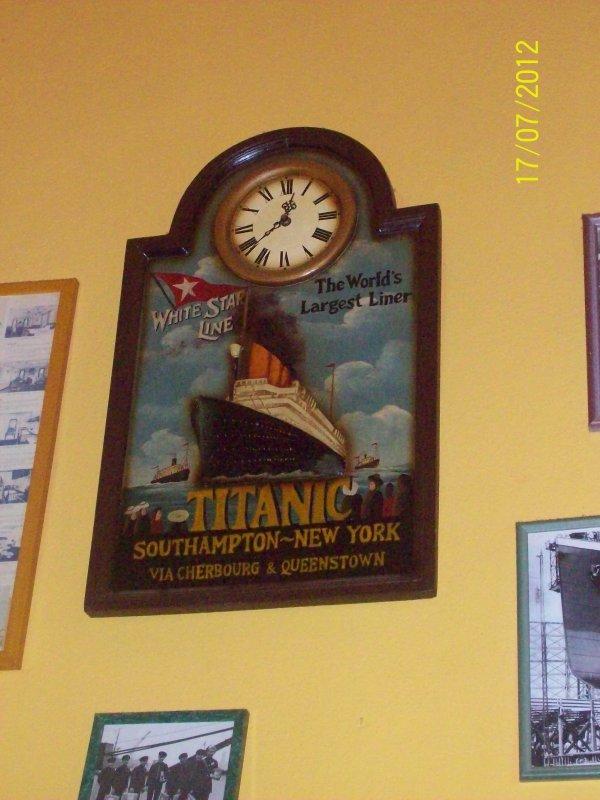 Objets Titanic