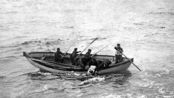 La Recherche Des Victimes Le Titanic En 1912