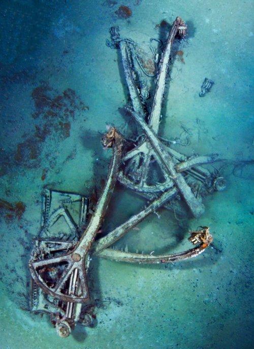 L'épave du Titanic