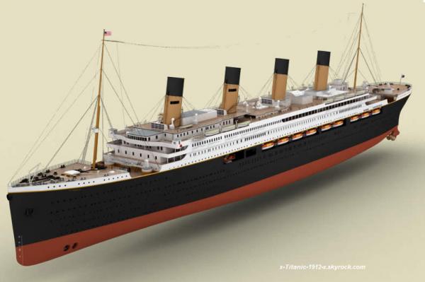 Infos sur le Titanic II