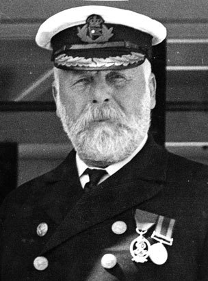 Edward Smith, le commandant du Titanic