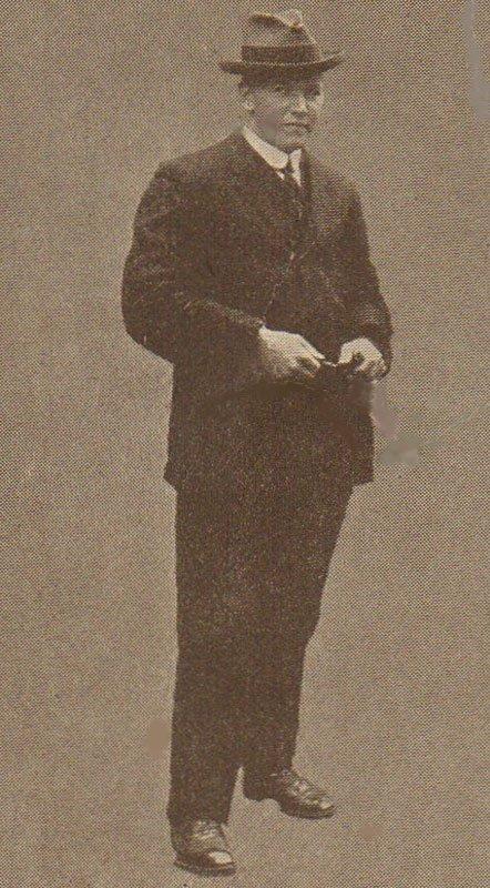 George Symons, veilleur du Titanic