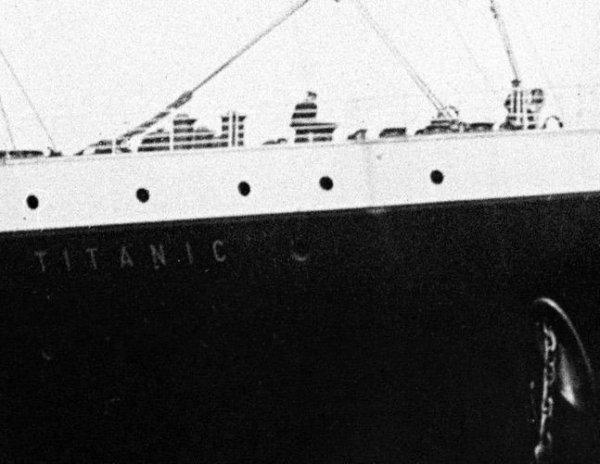 L'origine du nom Titanic