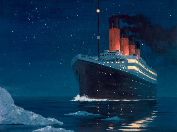 Le Titanic serait-il resté à flot plus longtemps si le choc avec l'iceberg aurait été frontal ?