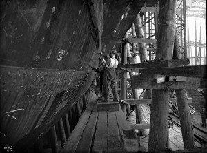 Y eut-il des accidents mortels pendant la construction du Titanic ?