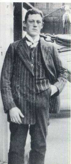 Harold Cottam, l'opérateur radio du Carpathia